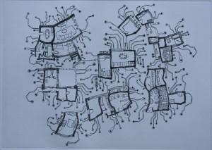 Živo stanovanje (bakropis)