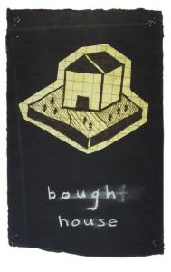 Bough House (ultra-violet screenprint)