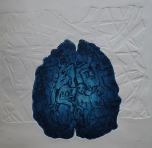 Brain (Linogravure)