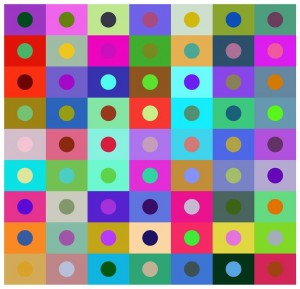 Colour Dotting (ink jet print on archival paper)