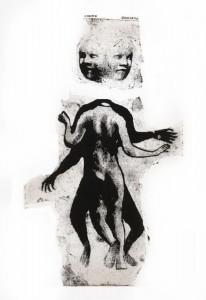 Cosma e Damiano (Diocleziano Persecution) (Gum Print (Print with Arabic Gum))