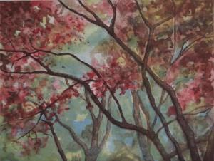 Drveće (akvatinta)