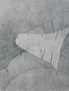 Female Forms II (Woodblock Print)