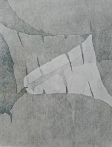 Female Forms III (Woodblock Print)