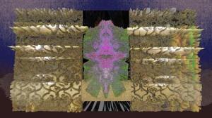 Gate - gold (Digital Print)