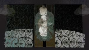 Gate - gray (Digital Print)
