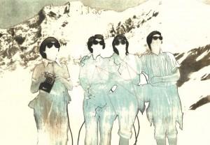Los Exploradores (6 colors lithography)