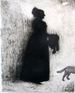 Mrs. Howland (acid tint lithograph)