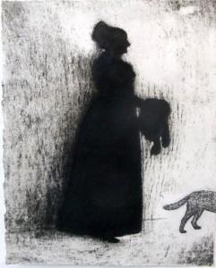 Mrs. Howland (acid tint lithograph)