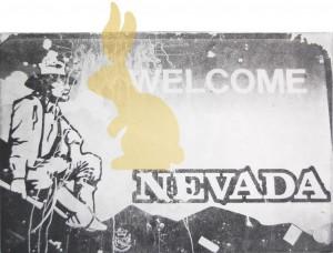 Nevada (Photopolymer-screenprint)