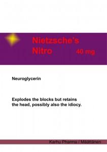 Nietzsche nitro (digiprint)