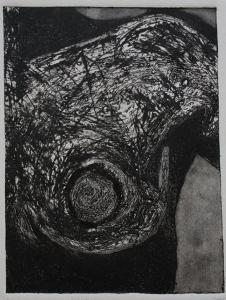 Nudo (Radirung(etching))