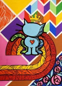 O Reino das Cores (Posca e Acrílico)