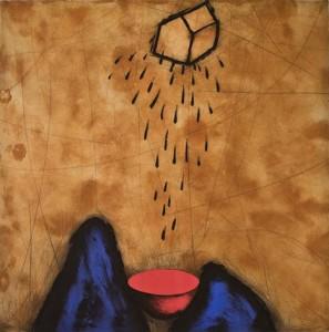 Pioggia (Drypoint, carborundum)