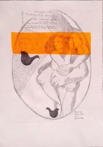 Roko i Cicibela, Decumanus (meki vosak, kolaž i linorez)