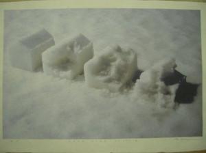 SNOW WORK NO.2010-1 (Inkjet Print)