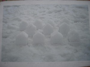 SNOW-WORK-NO.2010-1 (Inkjet Print)