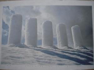 SNOW-WORK-NO.2010-2 (Inkjet Print)