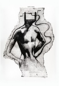 Santo Elmo (Diocleziano Persecution) (Gum Print (Print with Arabic Gum))