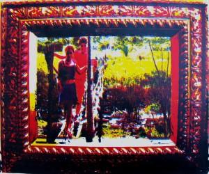 Selena e Luan (Serigraphy)