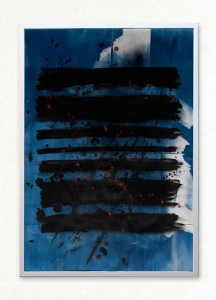 Solstice No. 3 (Cyanotype Prints And Ink On Paper)
