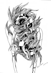 Sunflower (digital print)