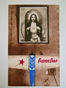 Super Star (copper plate photogravure)