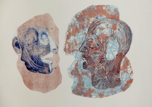Talking Heads (Lithography)
