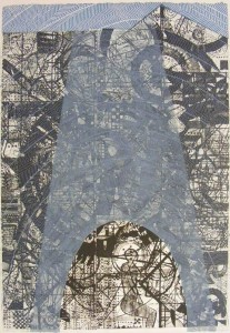 Tower (Etching-dry point)