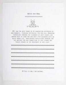 Watch Her Howl (using a 1976 Heidelberg Windmill Platen Press)