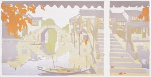 Watertown in My Dream1 (silkscreen)