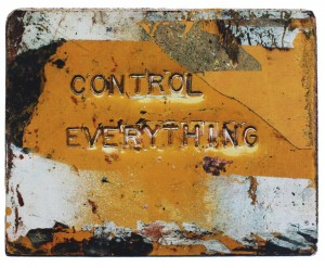Whats Under Control (ultra-violet scrennprint)
