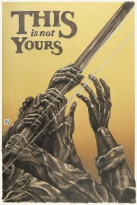 Yours (3 colour lithograph)