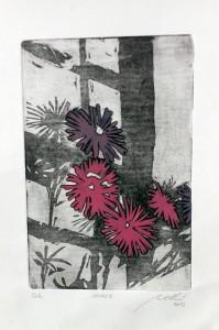 ombre (acquatinta a colori)