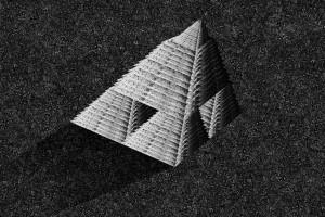 pyramid (own technique)