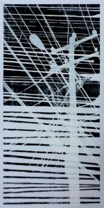 - (woodcut-stencil)